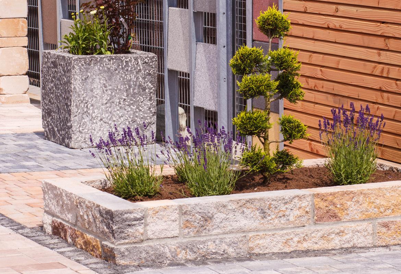 Garten gestalten for Natursteine garten